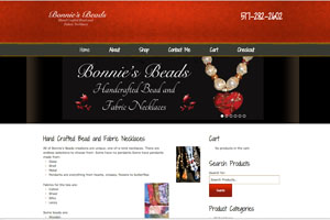 Bonnie's Beads Website