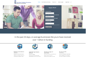 Website sample for Financial Services