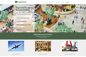 website sample of financial services